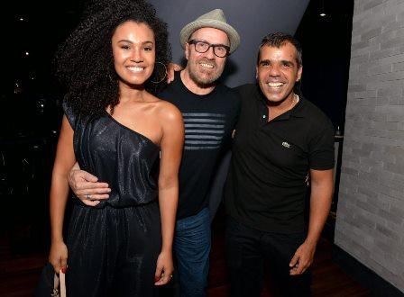 Thais Macedo , Liminha e Evandro Rius