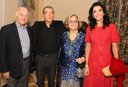 Francis Bogossian, Paulo Betti, Hildegard Angel e Antonia Frering