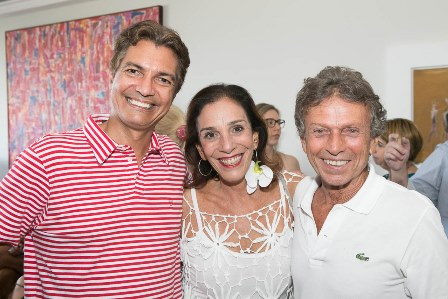 Gilso Araujo, Alicinha Silveira e Marcos Rodrigues