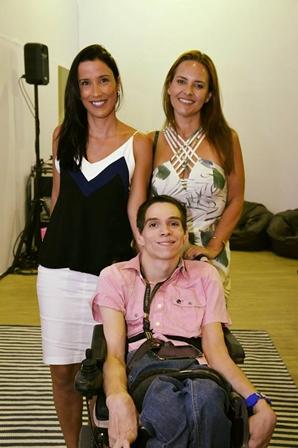 Giselle Leal, Lillian Morsch e Pedro Paulo Juliano