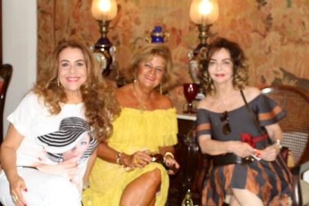 Carmem Emilia Xavier, Rosana Rodrigues e Vera Loyola