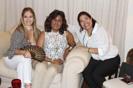 Gisela Markenson, Bete Suzano e Claudia Curi