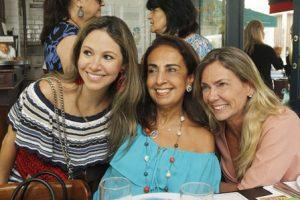 Alessandra Amaral, Tania Carvalho e Marcia Verissimo