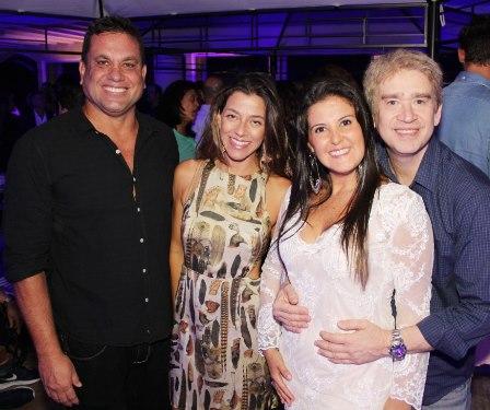 Marcelo Cruz, Roberta Moz, Fernanda Fontes e Alceu de Albuquerque