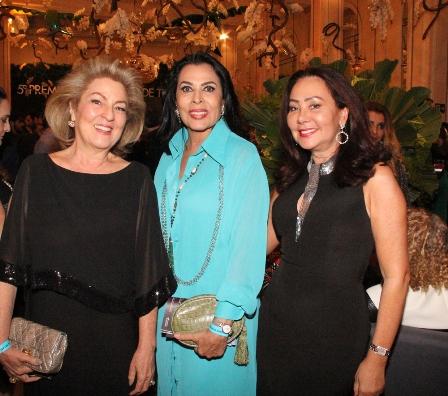 Margaret Padilha, Maria Luiza de Mendonça e Rosangela Oliveira