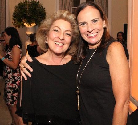 Margaret Padilha e Tereza Calero
