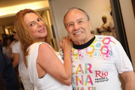 Marilene Saade e Stenio Garcia