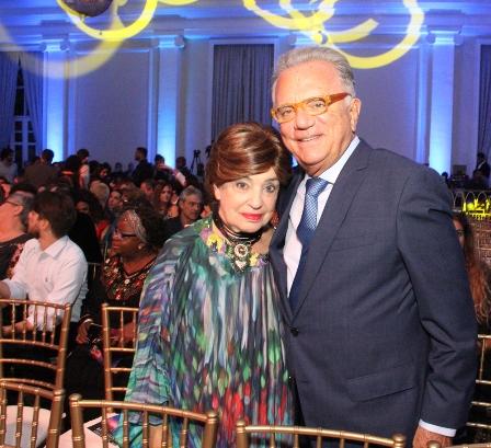 Miriam Dauelsberg e Pedo Grossi