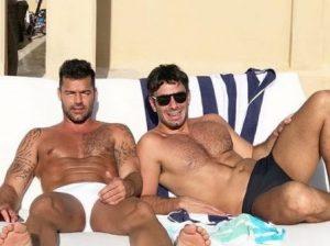 Ricky Martin e seu marido Jwan Yosef