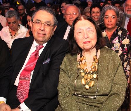 Roberto Halbout e Nelida Pignon
