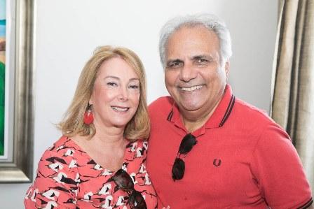 Sheila Barros e Franklin Toscano