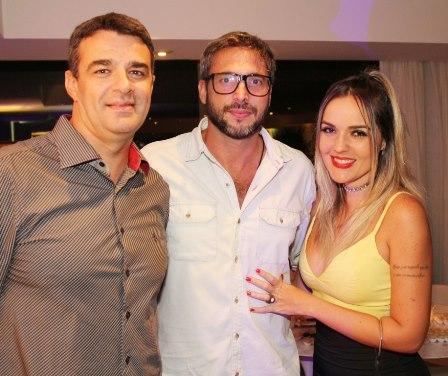 Otavio Sampaio, Daniel Michillini e DJ Nicole Baldwin