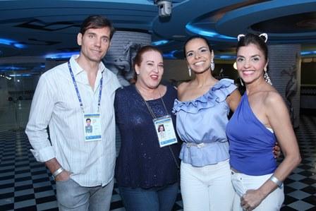 Emerson Salvador Marietto, Priscilla Levinsohn, Lene de Victor e Ana Cristina Villaça