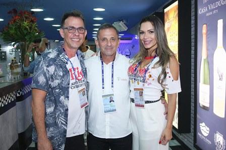 Marcos Chequer, Romão Vilaça e Luana Santos