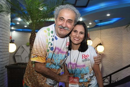 Ancelmo e Juliana Gois