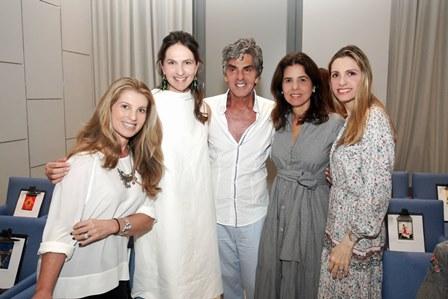 Denise Leão, Cris Pinheiro Guimarães, Manoel Thomaz, Angela Hall, Ana Paula Colla