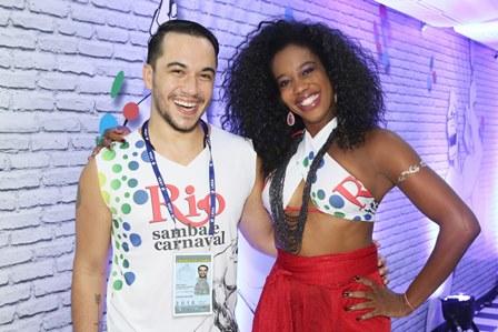 Vinicius Belo e Maria Gal
