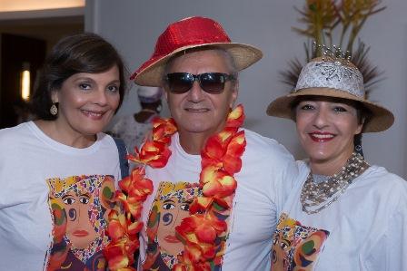 Camilla Pereira, Jorge Salomão, Sonia Mattos