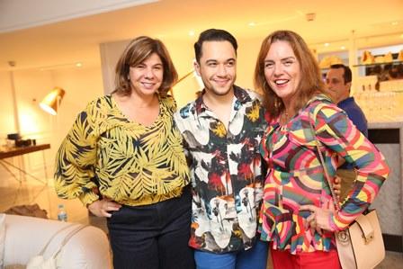 Auriete Middleton, Vinicius Belo e Claudia Rodridues