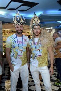 Diogo Benjamin e Luiz Fernando