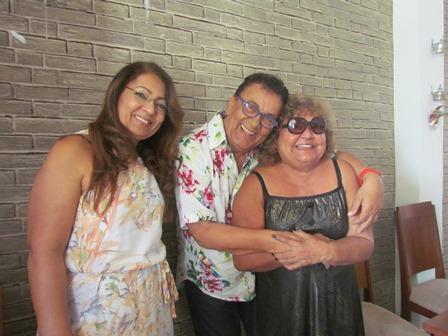 Cid Daltro com Celia Lazari  e Zaudite Souza