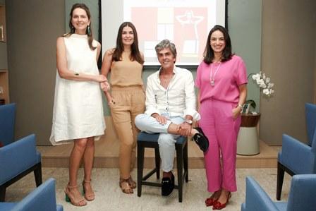 Cris Pinheiro Guimarães, Liliane Santiago, Manoel Thomaz e Leticia Cardoso