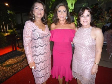 Dilma Portugal, Maria Angelica Barbosa e Ligia Mota