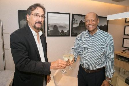 Dr. Luiz Carlos Pinto, Dr. Deusdeth Gomes do Nascimento