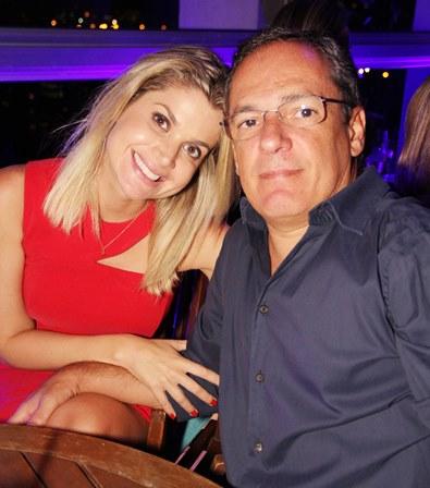 Gabriela Rarica e Luciano de Carvalho