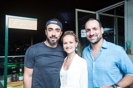 Ian Aciioli Renata Simoes e Marcelo Marinho