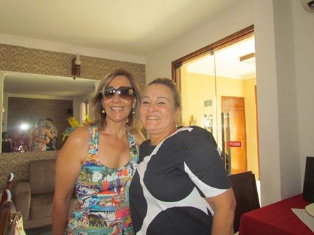 Jane Urbanetto e Rita Jatobá