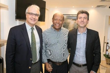 Joao Pantogena, Dr. Deusdeth Gomes do Nascimento, Paulo Bernardes (Diretor Copa Star)