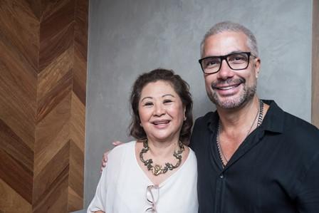 Kika Sato e Fernando Torquato