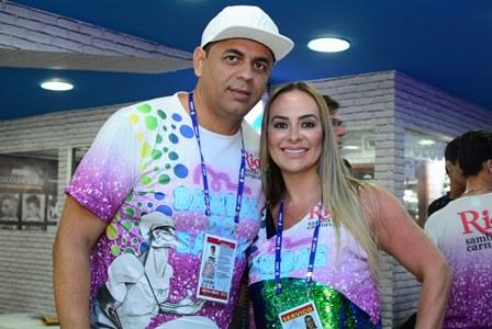 Pinha Presidente e Alexandra Godói