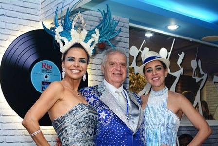 Lene DeVictr, Luis Carlos Magalhães e Roberta Sá