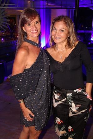 Marcia Scheveria e Fatima Franca