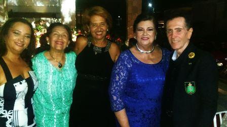 Maristela Freitas Leite. Denise Caribé Teixeira de Freitas, Suzana Magalhães, Ada Mascarenhas Bahia e Ailton Pitombo