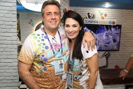 Gilberto Raos e Fabiana Amorim