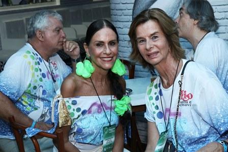 Beth Pint Guimarães e Rose de Ganay