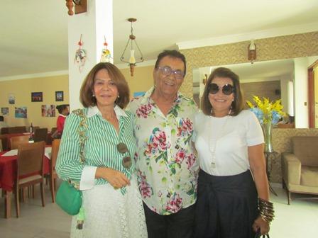 Solange Rodrigues, Cid Daltro e Iolanda Mascarenhas