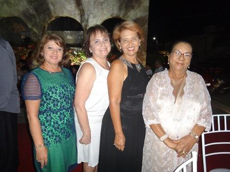 Soraia Salloum, Mirian Nildes Oliveira, Suzana Magalhães e Áurea Bastos Moura