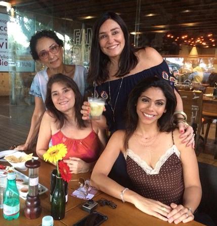 Sylvia Coelho, Leila Chaves, Cacau Dias e Du Oliveira