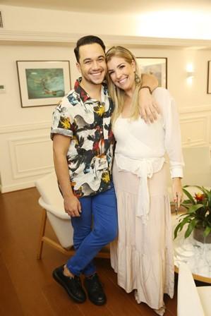 Vinicius Belo e Beatriz Venturi