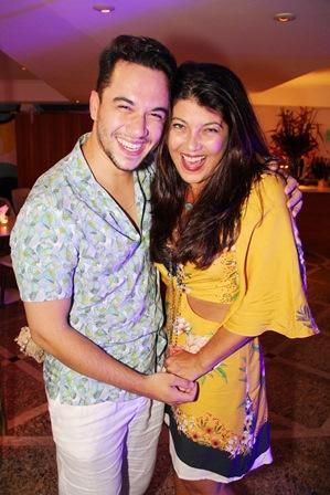 Vinicius Belo e Livia Torres