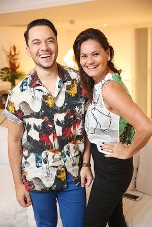 Vinicius Belo e Magda Cotrofe