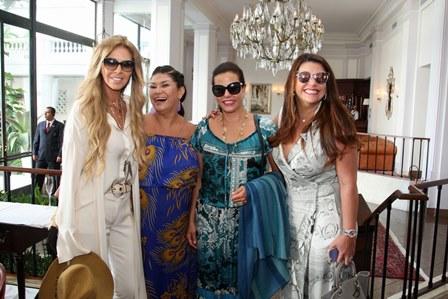 Nina Stevens,  Jaqueline de Almeida, Narcisa e Simone Stocler