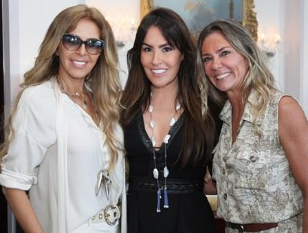 Nina Stevens, Fernanda Lynch e Marcia Verissimo