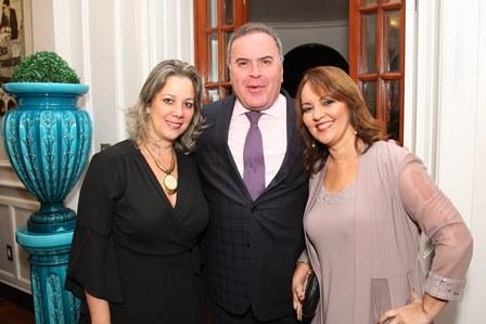 Bárbara Lopes, Ricardo Ribeiro e Vania Malizia