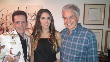 Ailton Pitombo com os cirurgiões plasticos Patricia Maria Araújo Neves e Volney Pitombo