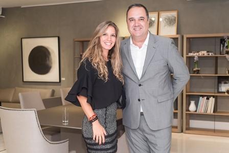 Aline Araujo  e Pedro Torres